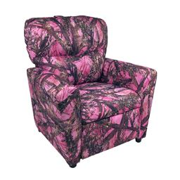 Dozydotes Contemporary Tween Recliner in MC2 Camo