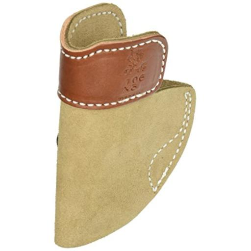 Desantis 106nax3zo desantis soft tuck holster iwb rh leather sig p938 natural