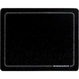 "Vance 82016BW Vance 20 x 16"" Black with White Border Surface Saver Tempered Glass Cutting Board"