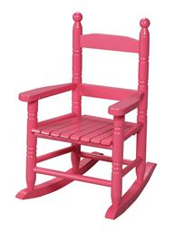 Gift Mark Childs Double Slat Back Rocking Chair - Pink