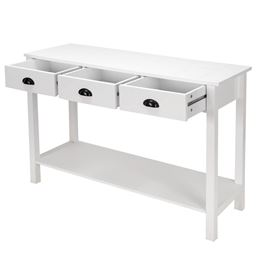 47 Stand Hall Side Console Table with Drawers""
