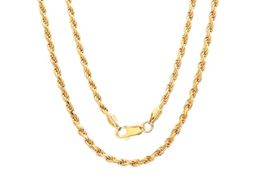 """14K Gold Filled 2MM Rope Chain 24"""""""