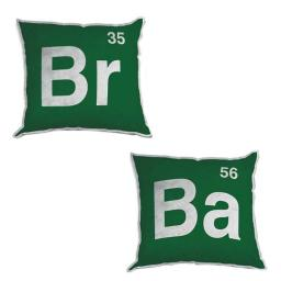 Breaking Bad Logo 12-Inch Plush Pillow Set of 2