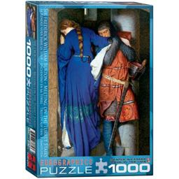 EuroGraphics Meeting Turret Stairs by Frederick William Burton 1000 Piece Puzzle