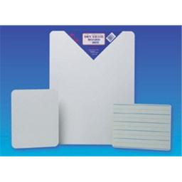 Flipside 10034 - Red And Blue Ruled - Dry Erase - Dual Sided Board - Bulk - 9 X 12 - Case Of 24