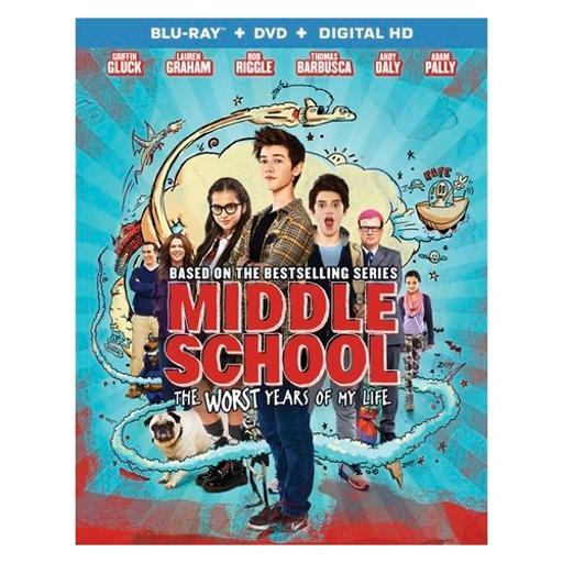 Middle school-worst years of my life (blu ray/dvd w/digital uv) ISCLYOAY7IEAU9G1