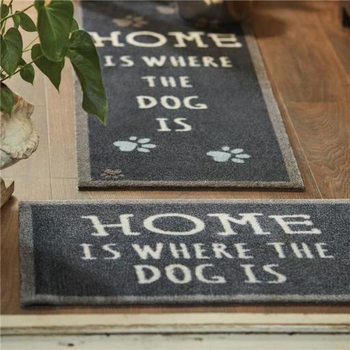 Bosmere T151 Hug Rug Pet 47 Home is Where the Dog Is Barrier Mat