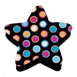 Magnetic Whiteboard Star Dots Erasers