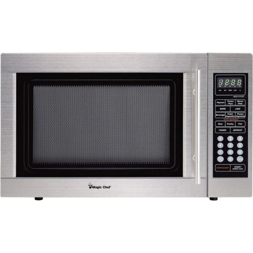 Magic chef mcd1310st 1.3 cu ft microwave oven ss MAGIC CHEF MCD1310ST 1.3 cu Ft Microwave Oven SS