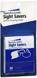Bausch + Lomb Sight Savers Optical Cleaning Cloths, 2 - 30 Ct