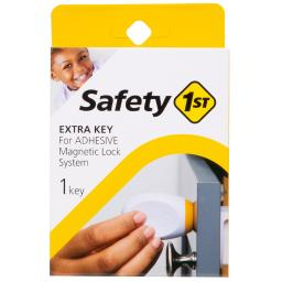 Safety 1st White Metal Magnetic Key 1 pk - Case Of: 1;
