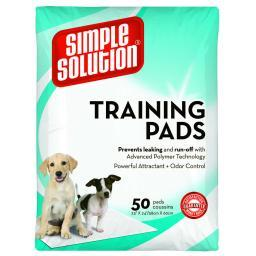 Simple Solution 13401 Simple Solution Training Pads 50 Count Large 23 X 24 X 0.1