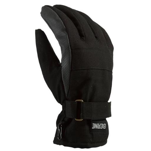 Berne Apparel GLV12BK400 Insulated Work Glove, Black - Medium