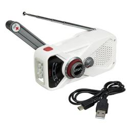 American Red Cross ARCFRX1WXW American Red Cross Weather Alert Radio with Flashlight