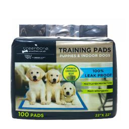 Humane Society Plastic Disposable Pet Waste Pads 100 pk - Case Of: 1; Each Pack Qty: 100; Total Items Qty: 100