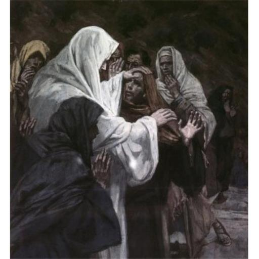 Posterazzi SAL9999227 He That Has Seen Me Has Seen the Father James Tissot 1836-1902 French Poster Print - 18 x 24 in.