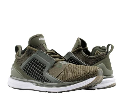 45af7a8a75aa7b Puma Puma IGNITE Limitless Weave Forest Night Olive Men s Running Shoes  19050301