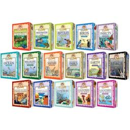 Outset Media 103501 Professor Noggin-insects and Spiders Card Game
