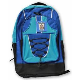 A Plus Homework 2290982 Bungee Backpack - Blue, Case Of 12