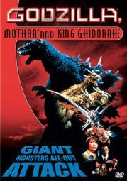 Godzilla mothra & king ghidorah-giant monsters all out attack (dvd/ws 2.35 D10014D