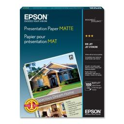 Epson print s041062 epson photo paper - letter a size (8.5 in x 11 in) - 105 g/m2. for epson 3640 S041062