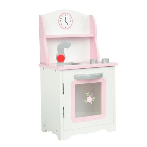 Teamson Design Corp TD-0211A Little Princess Doll Furniture - Sweet Pink Kitchen, 18 in.