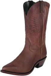 Boulet Western Boots Mens Cowboy Leather Hill Billy Golden 1867