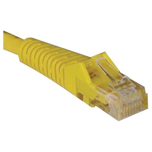 Tripp lite n001-006-yw 6ft cat5e yellow patch cable