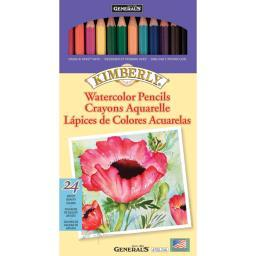 Kimberly Watercolor Pencils 24/Pkg- 700-24A