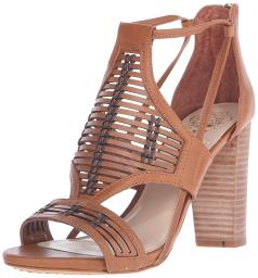 Vince Camuto Womens Ceara Leather Open Toe Casual Ankle Strap Sandals