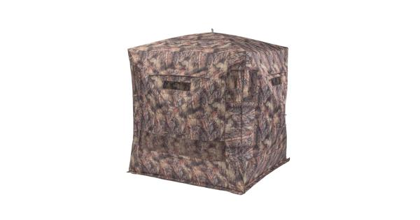 Native moh-dr native ground blinds mohican ground blind stand and sit drc