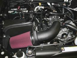 Airaid 07-11 Jeep Wrangler JK 3.8L CAD Intake System w/ Tube (Dry / Red Media) 311-208