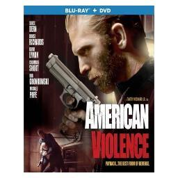 American violence (blu ray/dvd combo) (ws/1.78:1/2discs) BRST5290