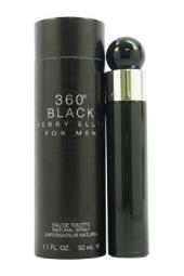 360 Black Perry Ellis 1.7 oz EDT Spray for Men