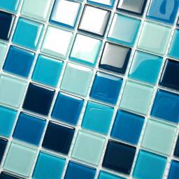 Blue Sea - 3-Dimensional Mosaic Decorative Wall Tile(10PC)