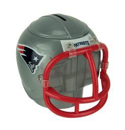 NFL New England Patriots Mini Helmet Coin Bank