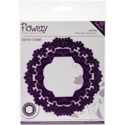 Find It Trading Precious Marieke Flowery Die Fleur-De-Lis Frames