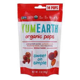 YumEarth - Organic Pops Assorted Flavors