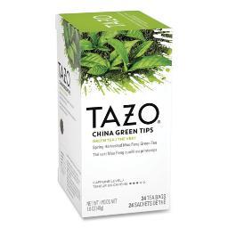 Tea Bags China Green Tips 24 Per Box   1 Box of: 24