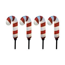 Ace Trading - Sienna 9350588 Candycane Pathway Light - 3 Count