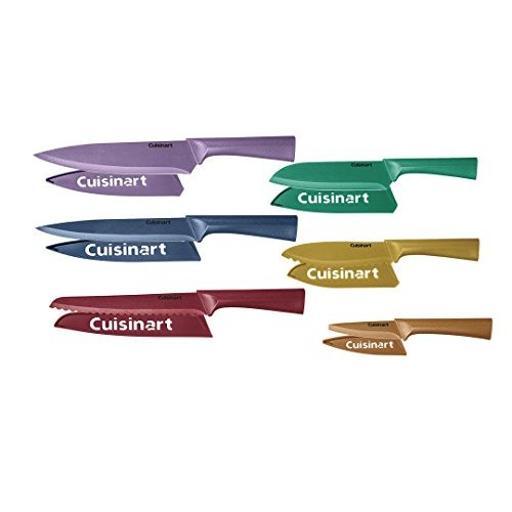 Conair-cuisinart c55-12pmc 12pc clr metallic cutlery set