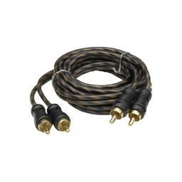 Audiopipe Cp-P3 Audiopipe 24Kt Gold Plated Interconnect Cable 3Ft