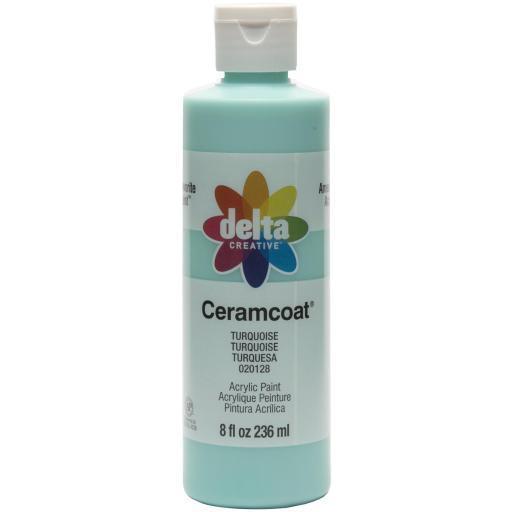 Ceramcoat Acrylic Paint 8Oz-Turquoise XIXSMEQZT8C3F2VA