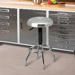 Seville classics she18290b pneumatic steel work stool