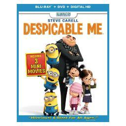 Despicable me blu ray/dvd w/digital copy/ultraviolet BR61126923