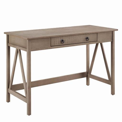 Titian Rustic Gray Desk