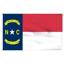 North Carolina 3'x5' Flag USA United States Of America Territory State Nylon