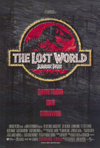The Lost World: Jurassic Park 2 Movie Poster Print (27 x 40) DXNUDX64UOKHMUFT