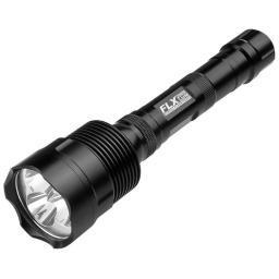 Barska  barska 2000 lum. flx flashlight 2x18650 batteries charger