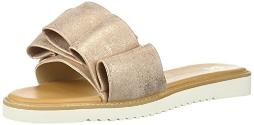 BC Footwear Women's Fun for All Ages Flat Sandal Rose Gold 7.5 M US
